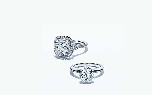 diamond wedding pinterest couples engagement sets setting best on ideas single tiffany rings ring